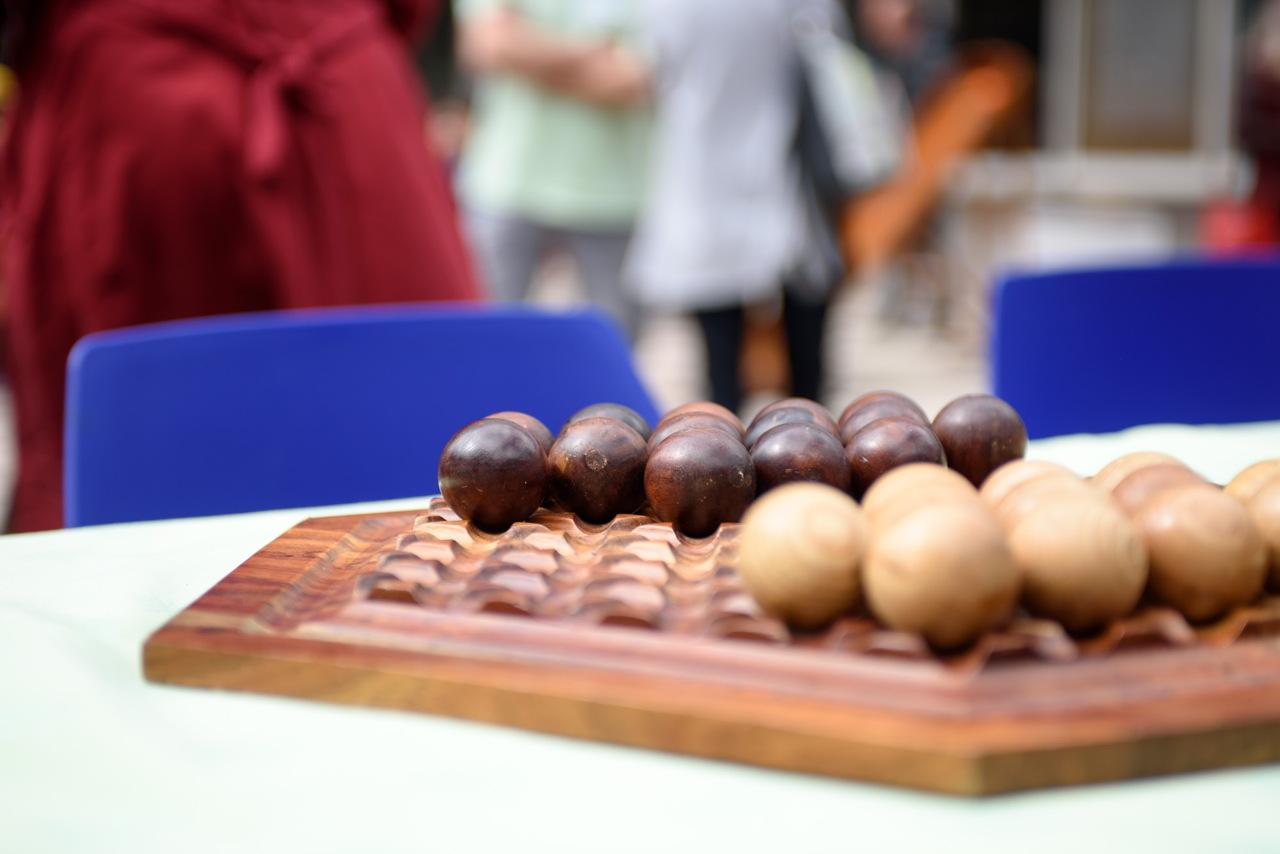 Abalone, version bois : Gigamic très présent sur le festival