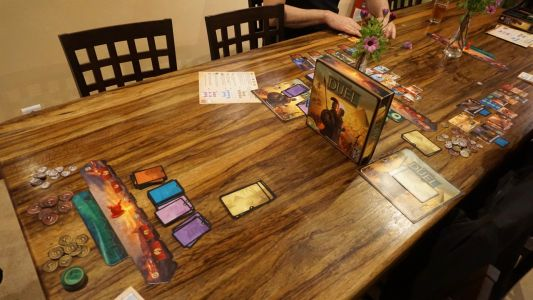 7 Wonders duel : Mise en place