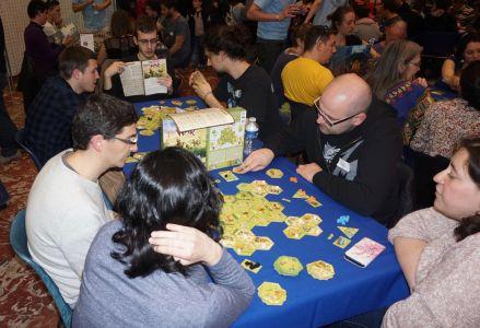 Meeple War : les tables n'ont pas désemplies