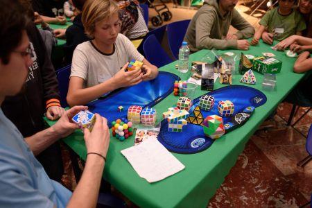 Des cubes, il y en avait de toutes les formes